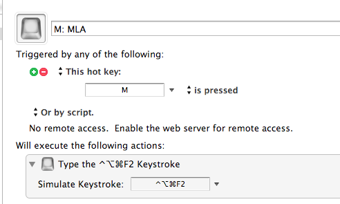 Send a keystroke! What could be easier!